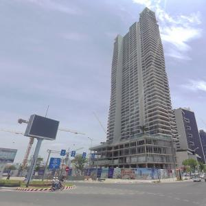 Soleil Danang by Wyndham under construction (StreetView)