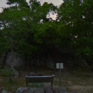 Saiki Castle Ruins (StreetView)