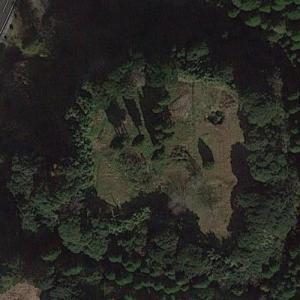 Chiran Castle Ruins (Google Maps)