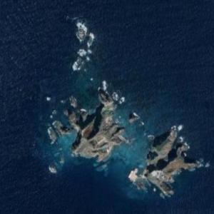 Liancourt Rocks (Google Maps)