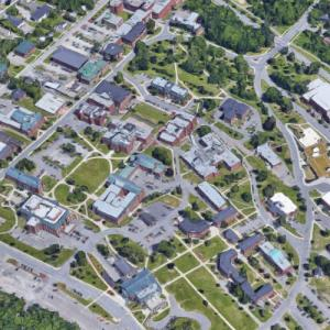 University of New Brunswick (Google Maps)