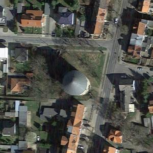 Halberstadt water tower (Google Maps)