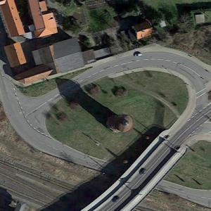 Halberstadt railway water tower (Google Maps)