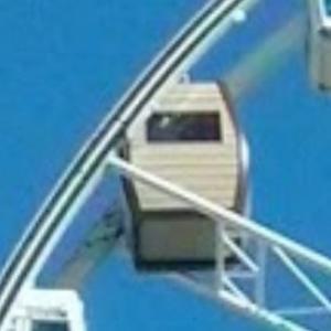 SkySauna cabin in the SkyWheel (StreetView)
