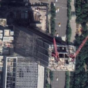 Global Financial Centre Tower 2 under construction (Google Maps)