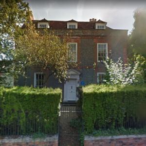 Agatha Christie's Winterbrook House (StreetView)