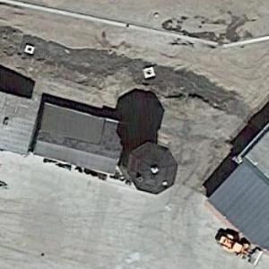 Salzwedel railway water tower (Google Maps)