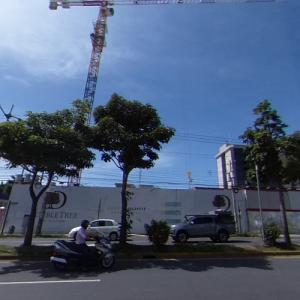 DoubleTree by Hilton La Sabana (tallest building in Costa Rica) under construction (StreetView)