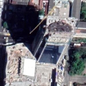 Millennium Plaza under construction (Google Maps)