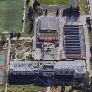 Vancouver Technical Secondary (Google Maps)