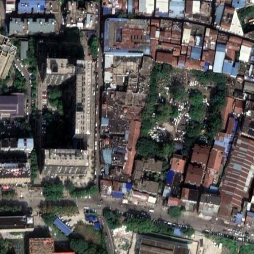Huanan Seafood Market (Google Maps)