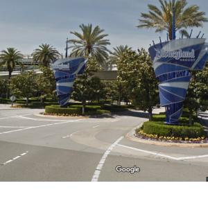 Mickey and Friends Parking Structure Entrance Signs (StreetView)