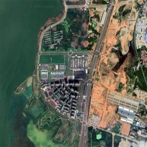 Leishenshan Hospital - Wuhan, China - 2020 Coronavirus Fast-Build Hospital (Google Maps)