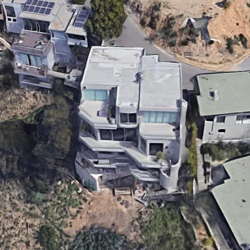 Nicole Scherzinger's house (Google Maps)
