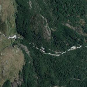 Lake Unknown Falls (Google Maps)