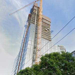 Third and Lenora under construction (StreetView)