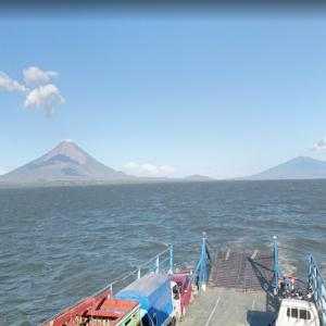 Concepción and Maderas volcanoes (StreetView)