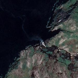 Skytjefossen (Google Maps)