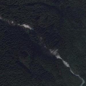Odegaard Falls (Google Maps)