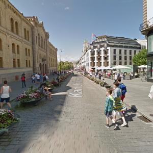 Karl Johans Gate (StreetView)