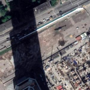 One Tower under construction (Google Maps)