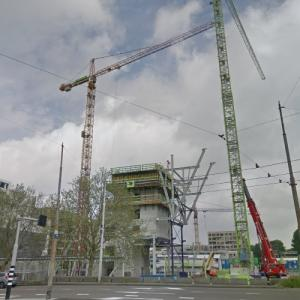 'Terrace Tower' by BIG under construction (StreetView)