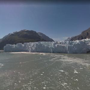 View of Margerie Glacier (StreetView)