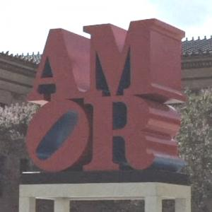 'AMOR' by Robert Indiana (StreetView)