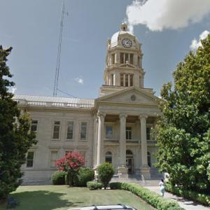 'Leflore County Courthouse' by R. H. Hunt (StreetView)