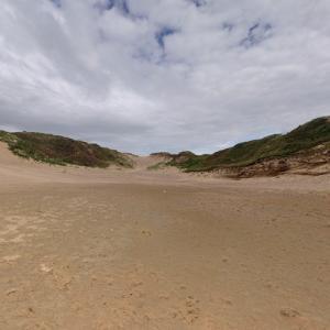 Merthyr Mawr Sand Dunes (StreetView)