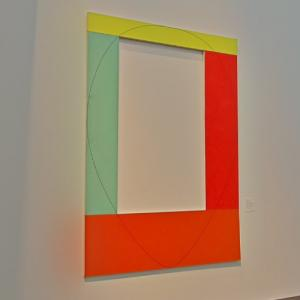 'Four Color Frame Painting #4' by Robert Mangold (StreetView)