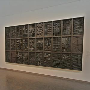 'End of Day -- Nightscape IV' by Louise Nevelson (StreetView)