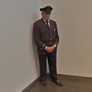 'Museum Guard' by Duane Hanson (StreetView)
