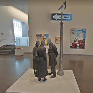 'Chance Meeting' by George Segal (StreetView)