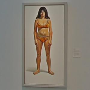 'Bikini' by Wayne Thiebaud (StreetView)