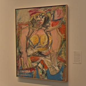 'Woman IV' by WIllem de Kooning (StreetView)