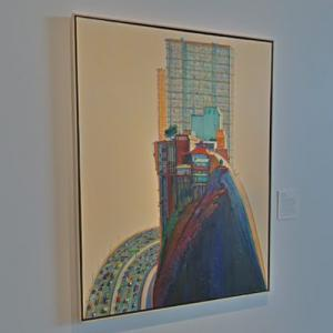 'Apartment Hill' by Wayne Thiebaud (StreetView)