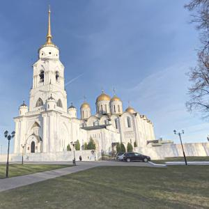 Dormition Cathedral, Vladimir (StreetView)
