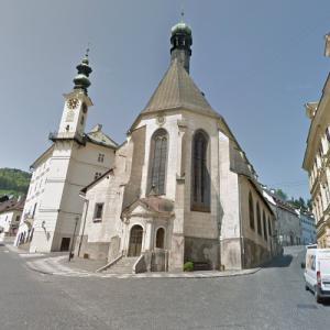 Church of St Catherine, Banská Štiavnica (StreetView)