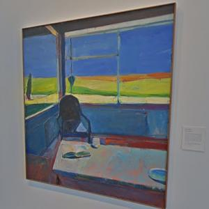 'Interior with a Book' by Richard Diebenkorn (StreetView)