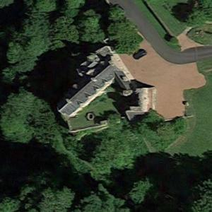 Drue Heinz's Hawthornden Castle (Deceased) (Google Maps)