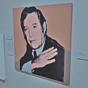 'Portrait of Jack Tanzer' by Andy Warhol (StreetView)