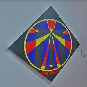 'Fire Brigade' by Robert Indiana (StreetView)