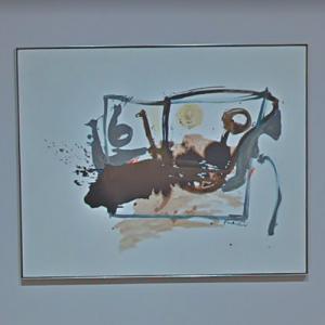 'Scene with Blue 6' by Helen Frankenthaler (StreetView)