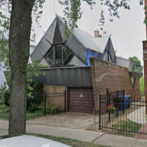 'Bachman House' by Bruce Goff (StreetView)