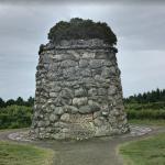 Battle of Culloden Memorial cairn