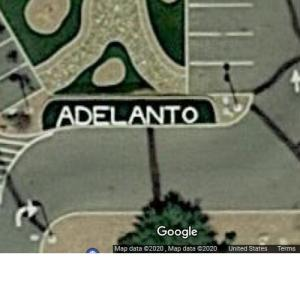 Adelanto Sign (Google Maps)