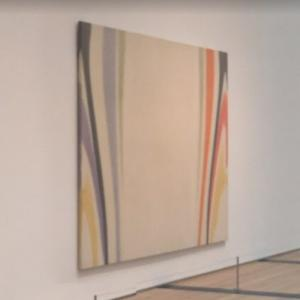 'Beta' by Morris Louis (StreetView)