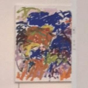'Ici' by Joan Mitchell (StreetView)