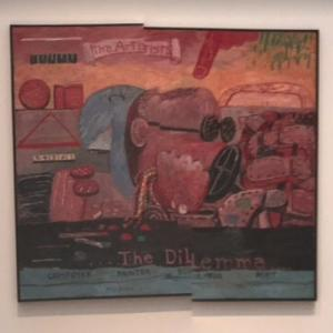 'Allegory' by Philip Guston (StreetView)